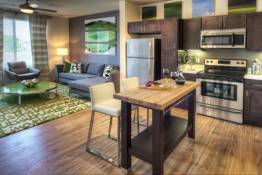 Englewood Apartments Capstone at Vallagio Gourmet Kitchens