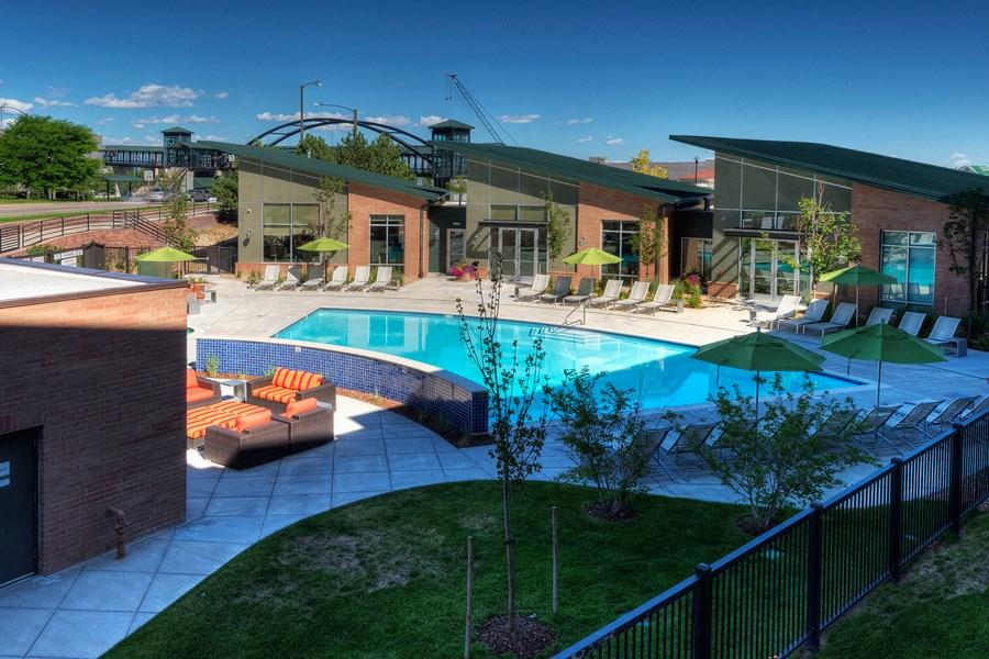 Englewood Apartments Capstone at Vallagio Resort-Style Pool