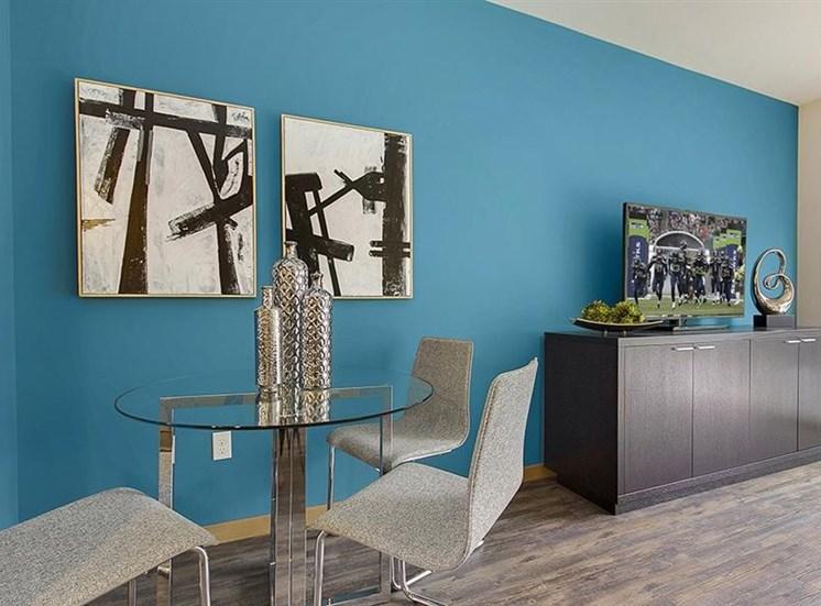 Separate Dining Area at Trillium Apartments, 4902 148th Street, Edmonds, WA 98026