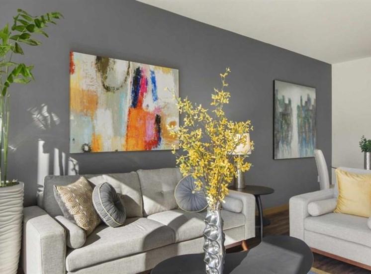 Two Tone painting at Trillium Apartments, Washington, 98026