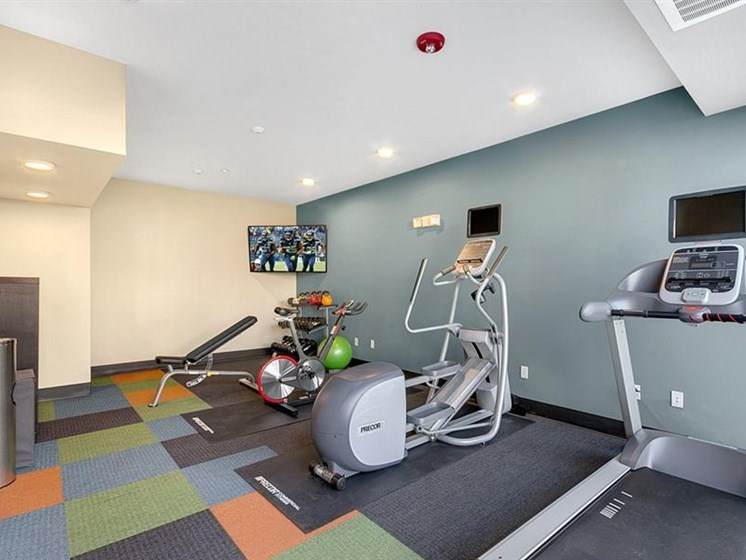 Trillium Apartments - Edmonds WA Apartments For Rent Modernized Fitness Center