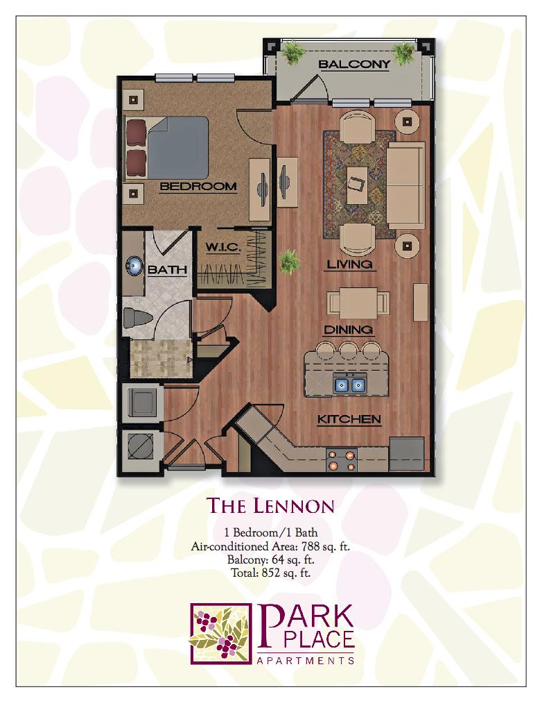 Lennon Floor Plan 1