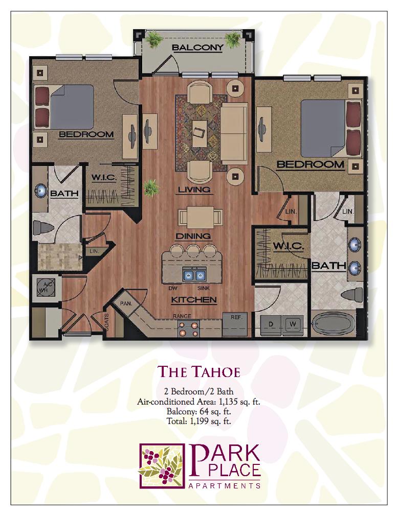 Tahoe (Angle entrance) Floor Plan 8