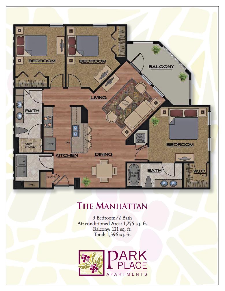 Manhattan Floor Plan 12