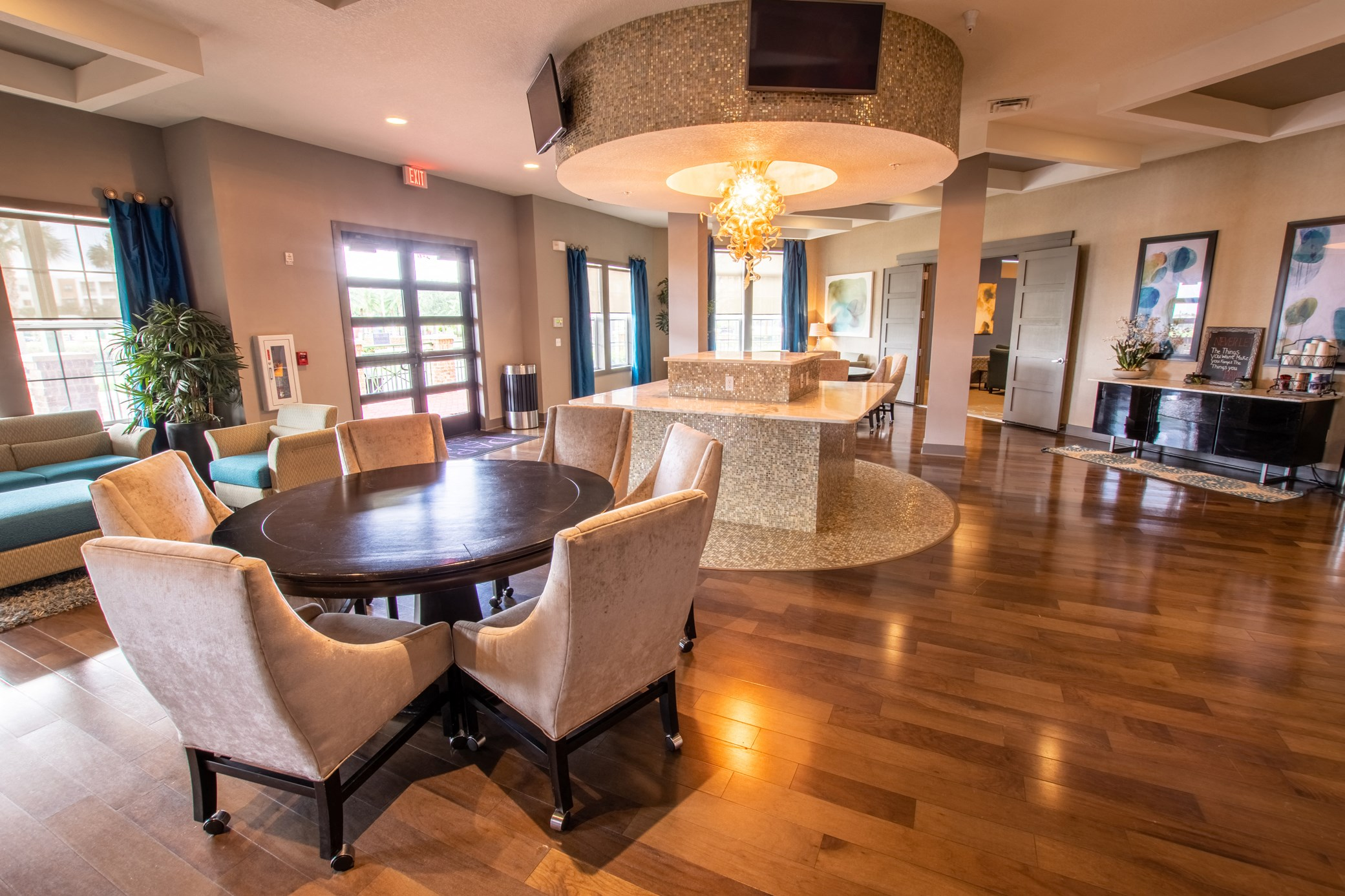 Clubhouse at Park Place Apartments