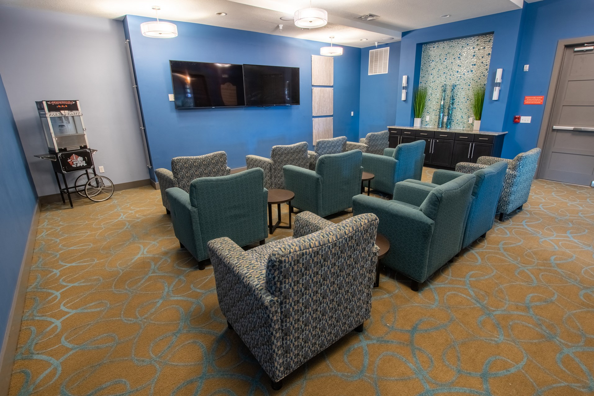 Theater Room at Park Place Apartments