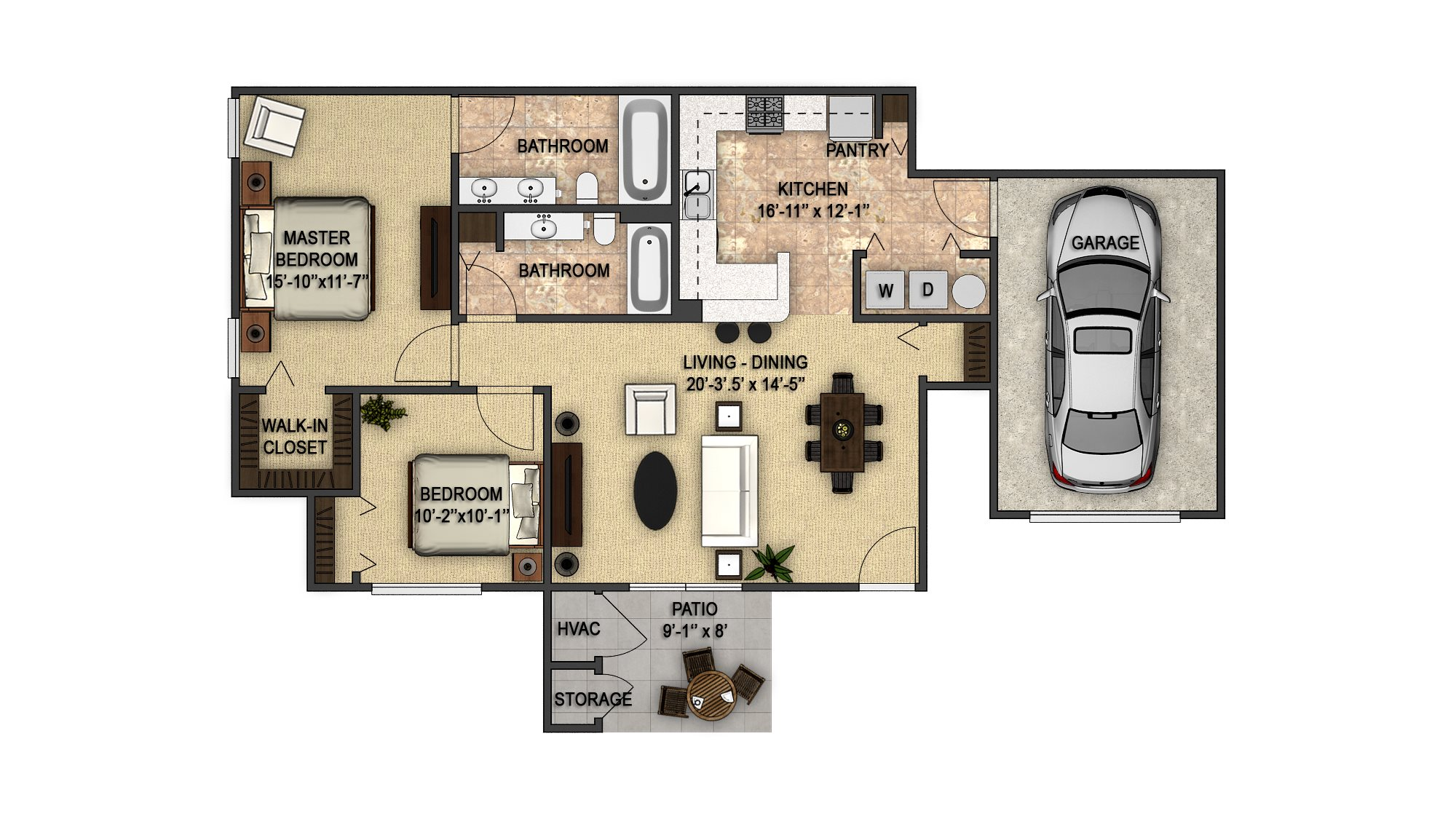 Devonwood Garage Floor Plan 8