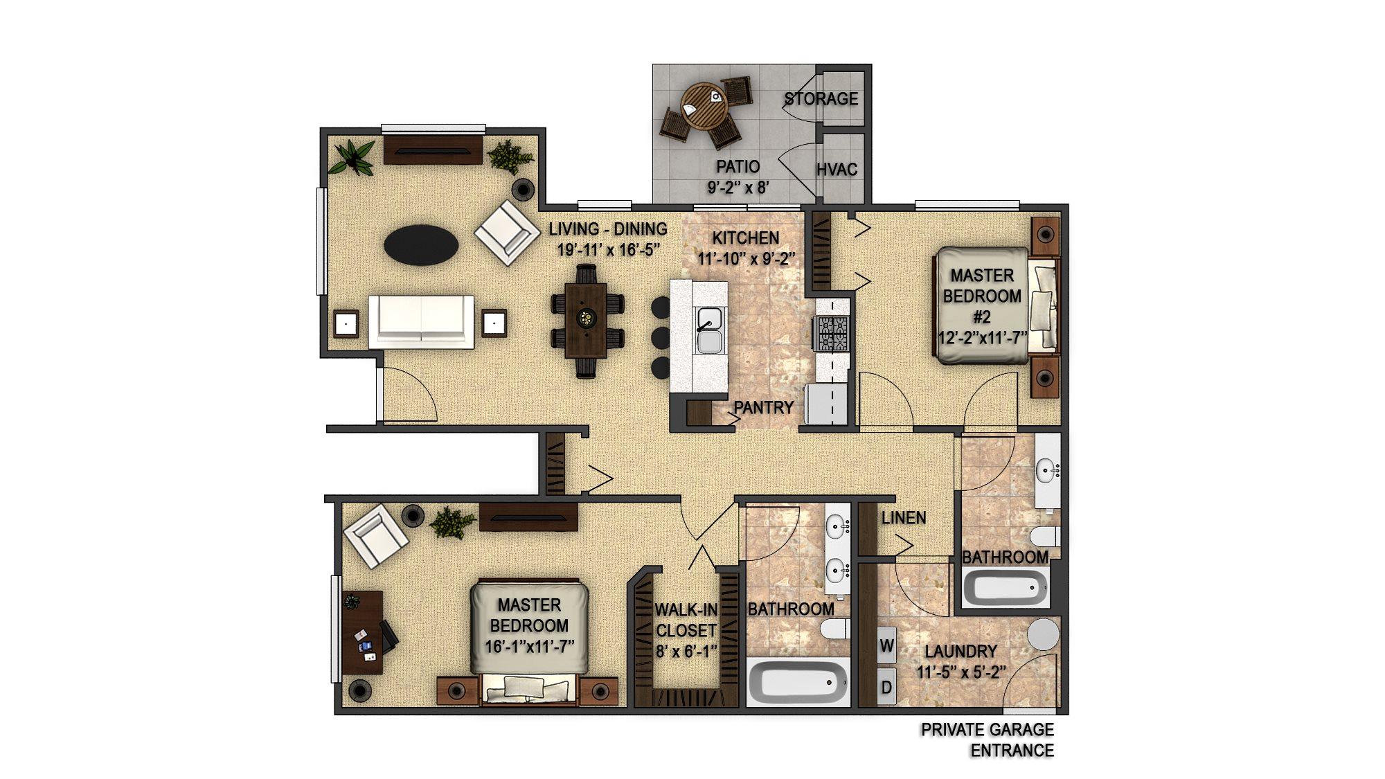 Elmwood Garage Floor Plan 12