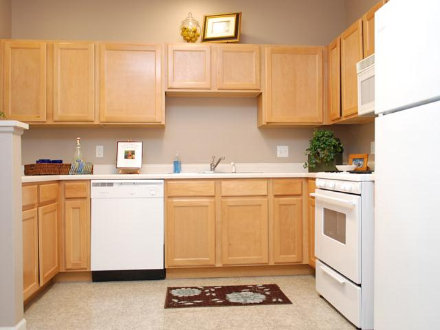 Spacious kitchen at Prairie Point in Merrillville, IN