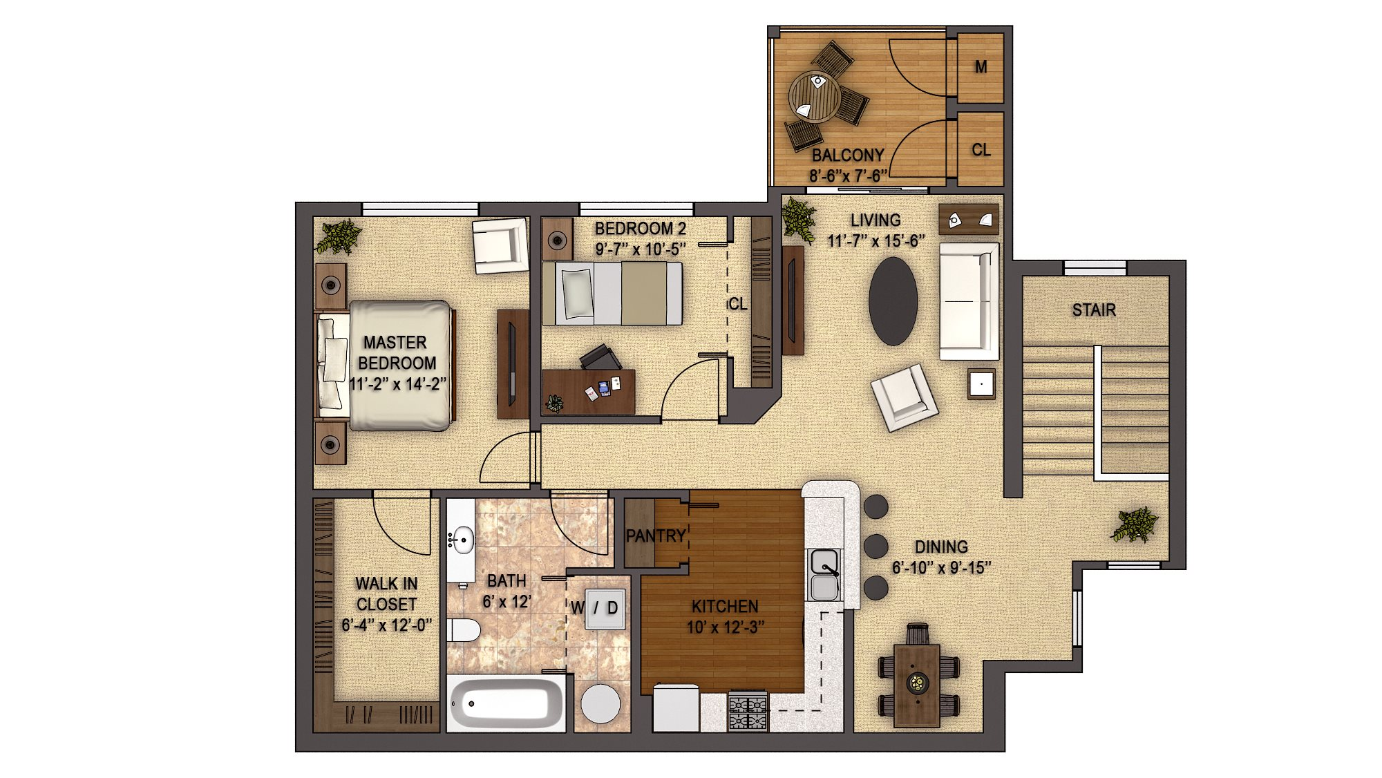 Birchwood Reserve (2nd Floor) Floor Plan 15