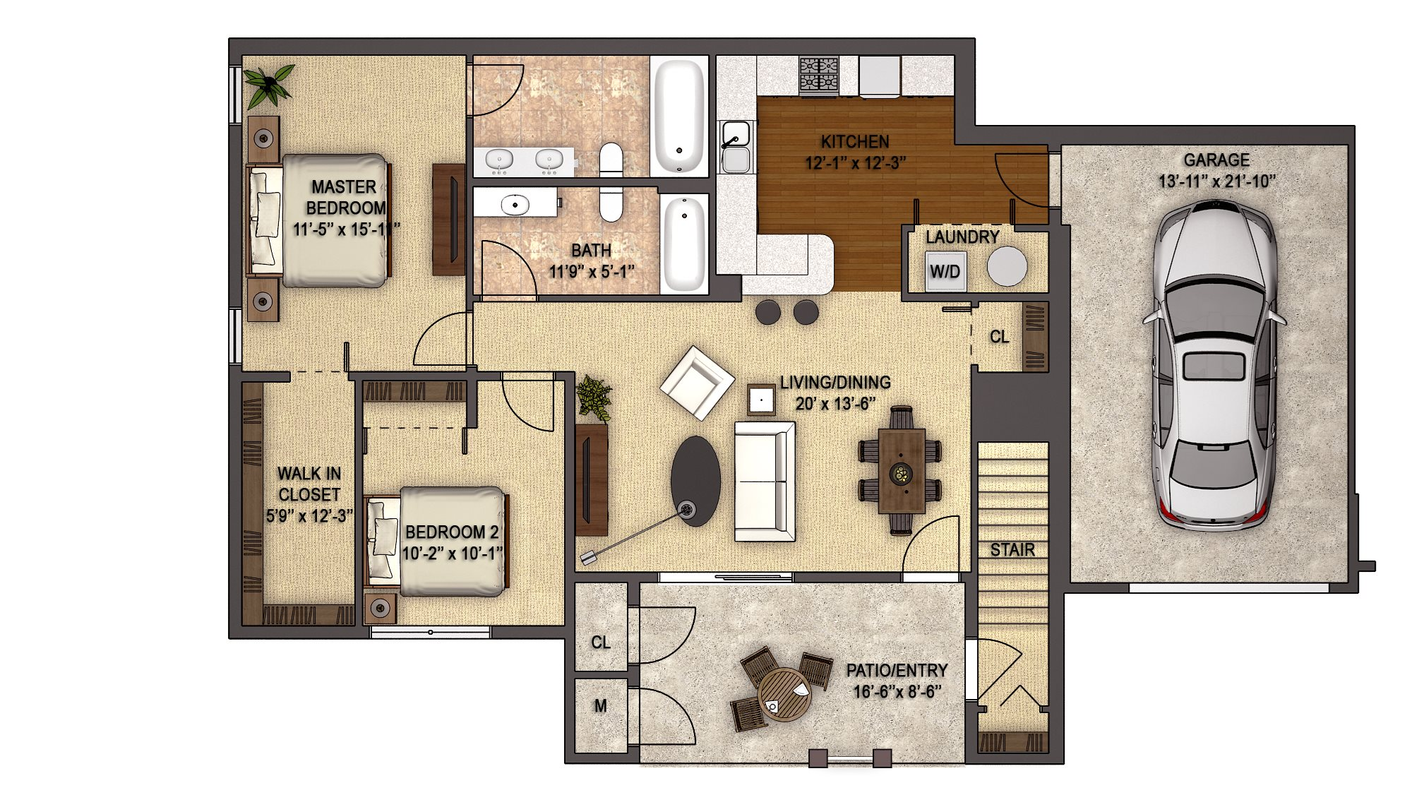 Devonwood Reserve with Garage Floor Plan 16