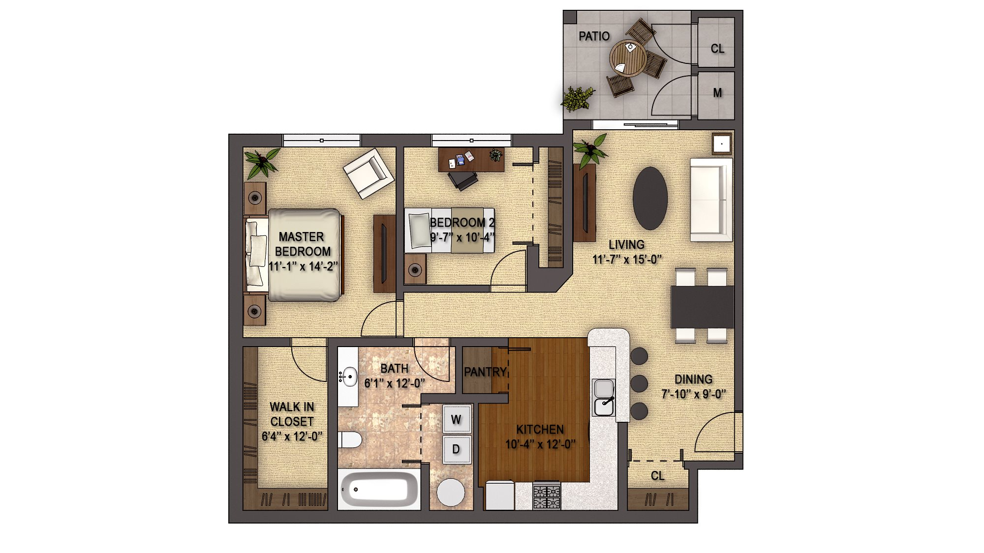 Birchwood Reserve (1st Floor) Floor Plan 14