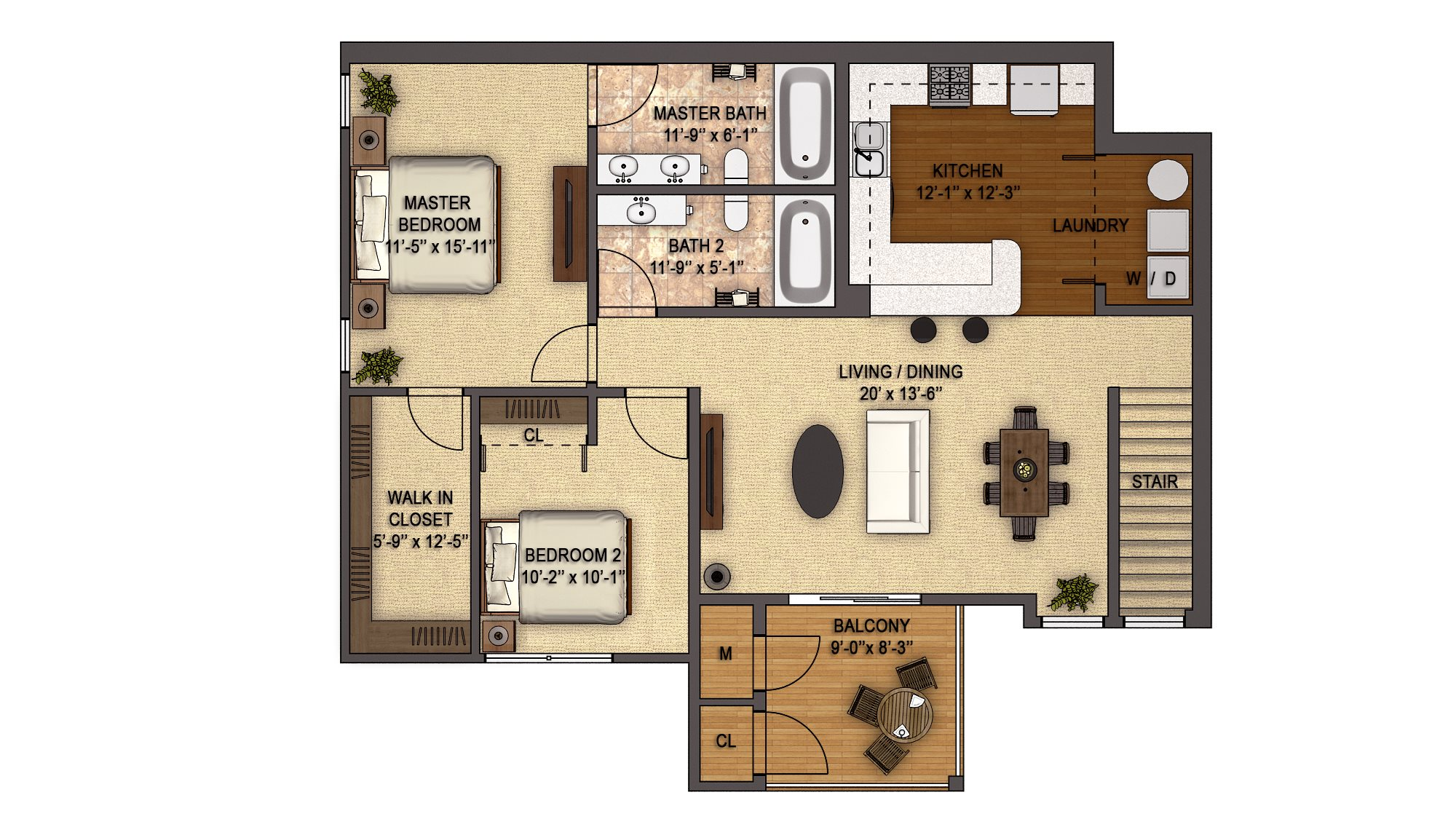 Devonwood Reserve (2nd Floor) Floor Plan 17
