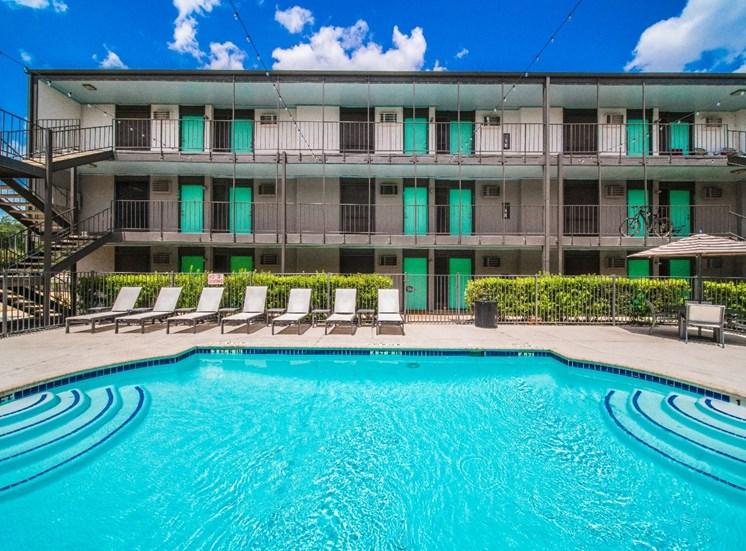 Resort-Style Pool at Mesh Properties, Texas, 78741
