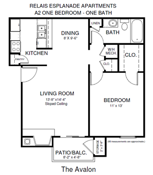 One Bedroom Avalon