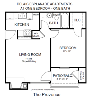 One Bedroom Provence