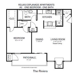 One Bedroom Rivieria