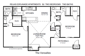 Two Bedroom Versailles