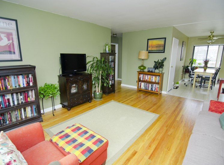 Space to entertain in Living Room
