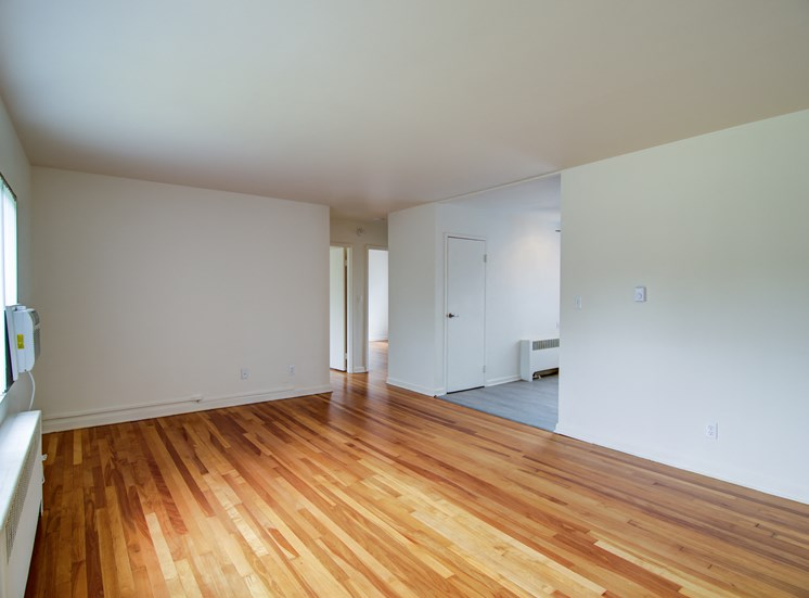 Wood Flooring in Amber Square Apartments