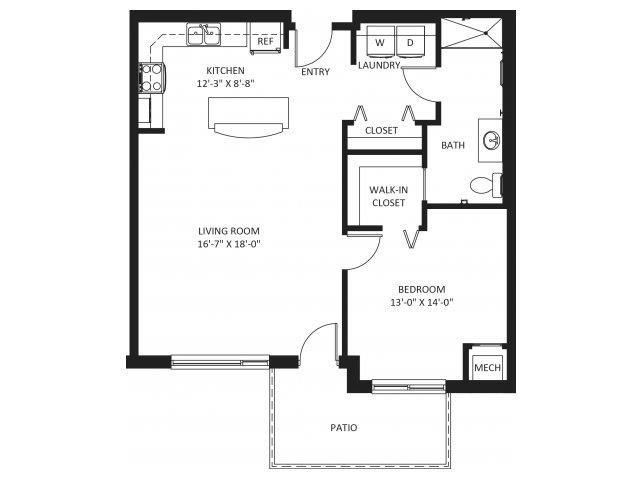 Banyan HC Accessible Floor Plan 3