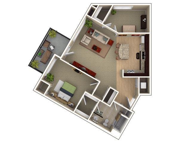 Creekview w/ Den Floor Plan 5