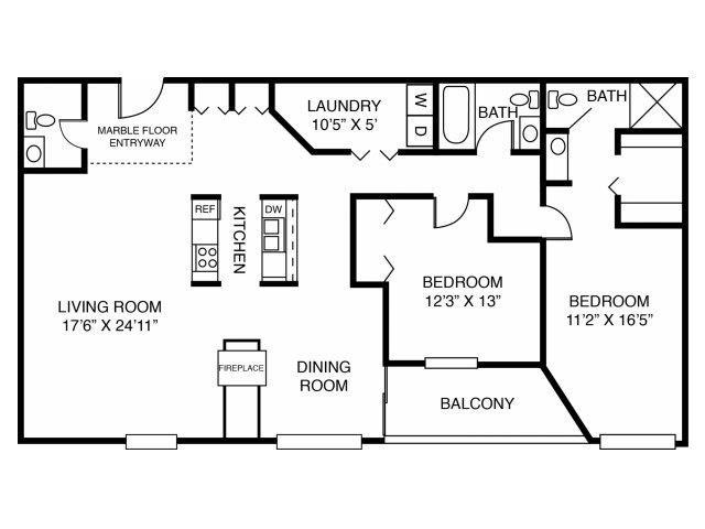 2F-Penthouse Floor Plan 10