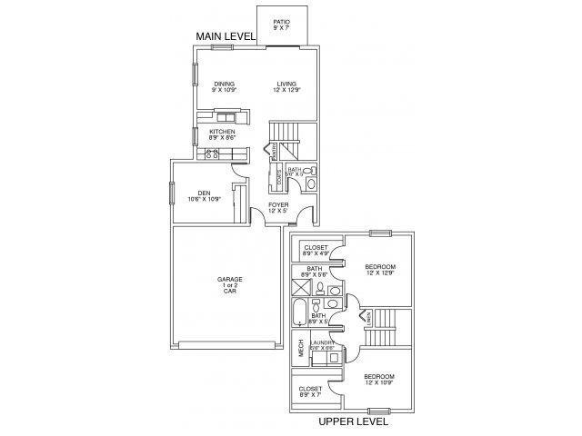 Camden Floor Plan 2