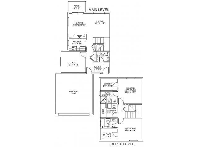 Vermilion Floor Plan 1