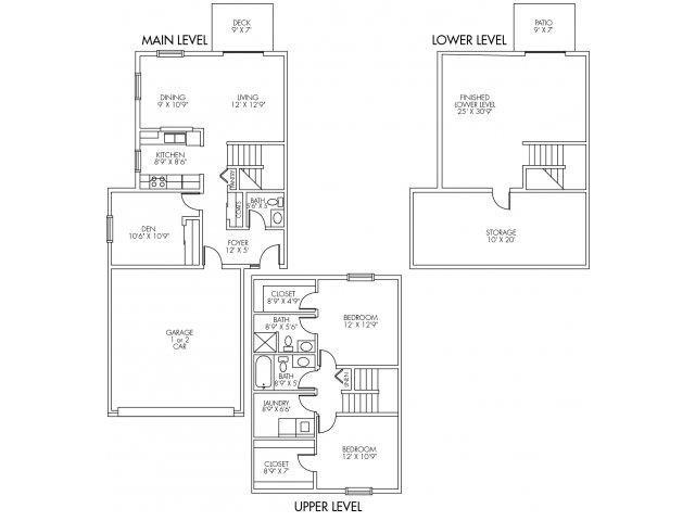 Afton Floor Plan 3