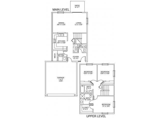 Cascade II Floor Plan 6