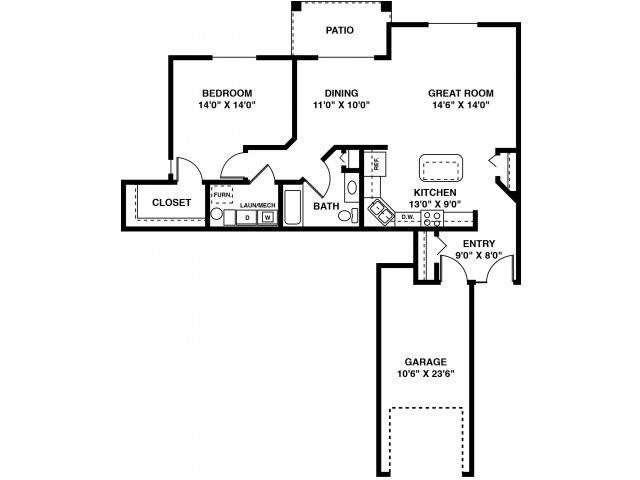 The Berry (Handicap Accessible) Floor Plan 2