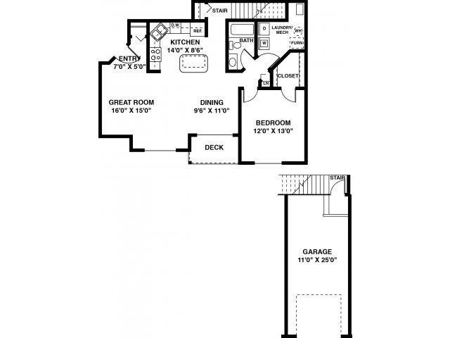 The Blake Floor Plan 3