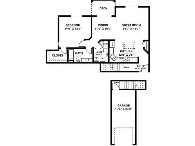The Burnes Floor Plan 4