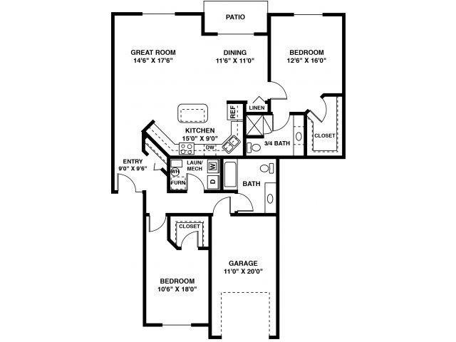 The Woods Floor Plan 12