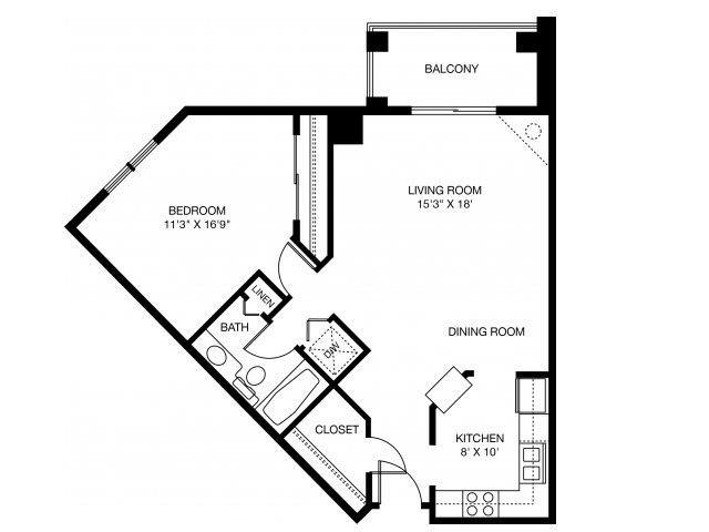 1D Floor Plan 5