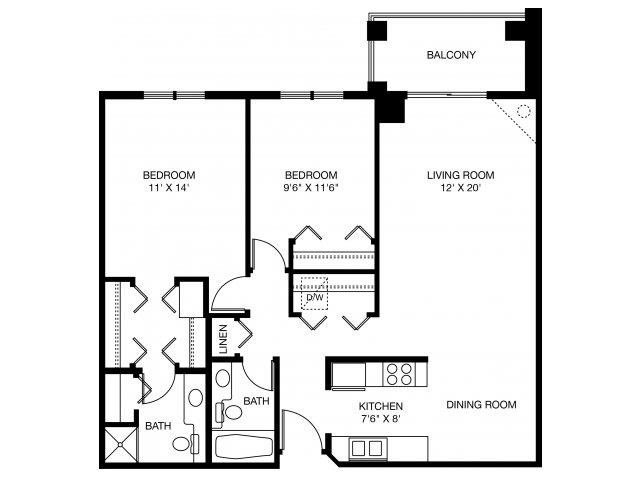 2B Floor Plan 7