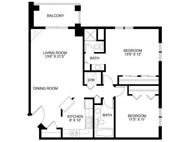 2D Floor Plan 9