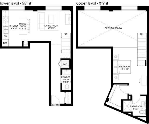 B4 Loft Floor Plan 19