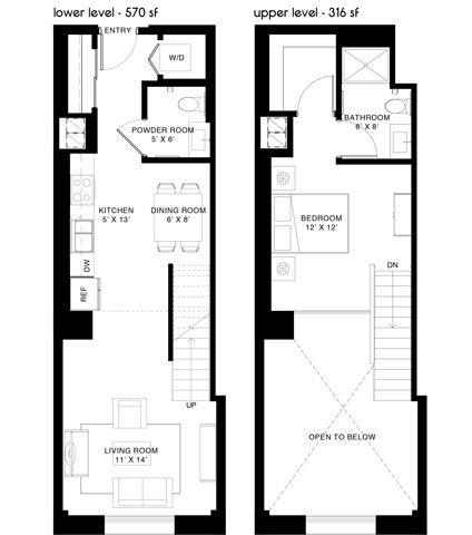 B1 Loft Floor Plan 5