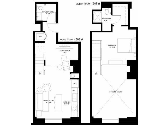 B2 Loft Floor Plan 13