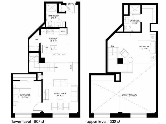 C1 Type B Loft Floor Plan 9
