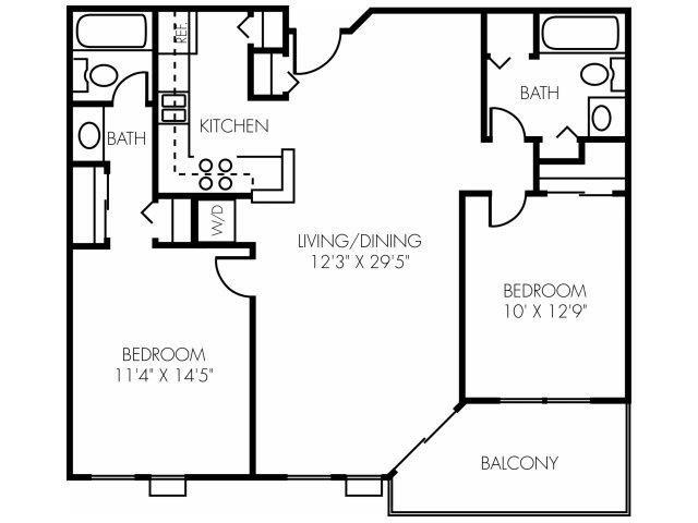 2P Pin Oak Upgraded Floor Plan 10