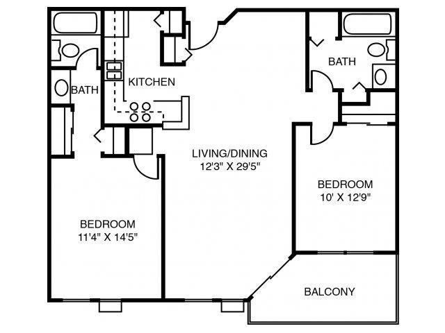 2P Pin Oak Floor Plan 9