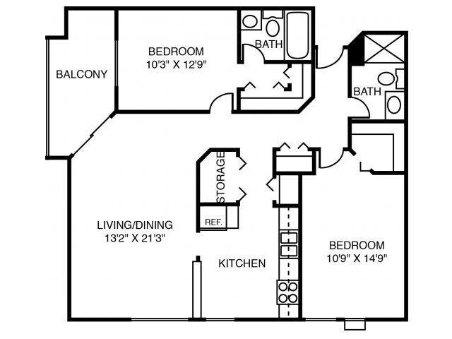 2W White Cedar Floor Plan 13