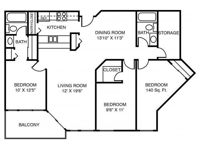 3A The Cottonwood Floor Plan 5