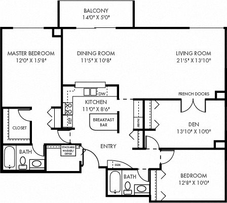 The Capital Floor Plan 7