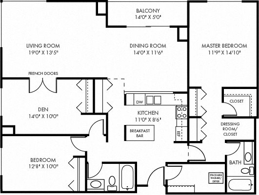 The Cathedral Floor Plan 8