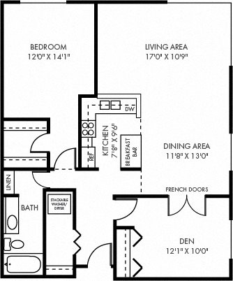 The Hamline Floor Plan 4