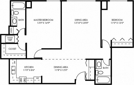The River Bluff Floor Plan 6